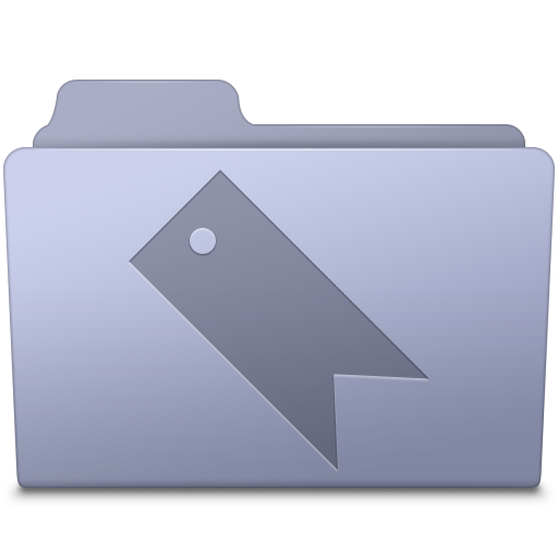 Favorites-Folder-Lavender icon