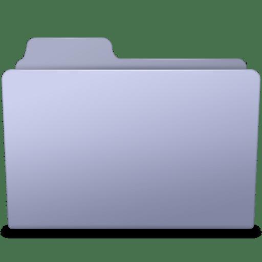 Generic Folder Lavender icon