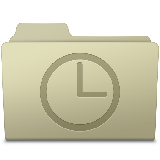 History-Folder-Ash icon