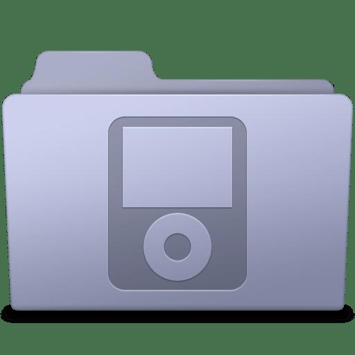 IPod-Folder-Lavender icon