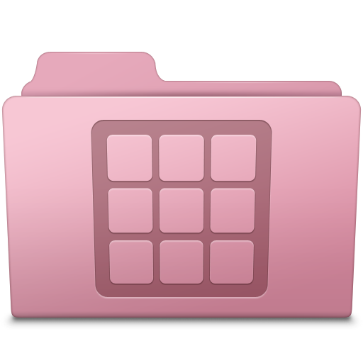 Icons Folder Sakura icon