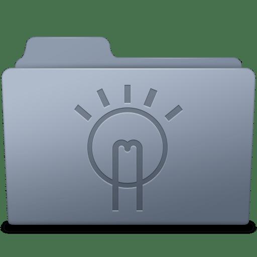 Idea-Folder-Graphite icon