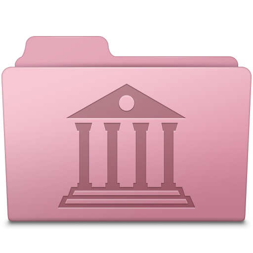 Library Folder Sakura icon
