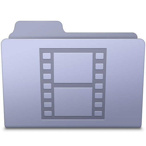 Movie-Folder-Lavender icon