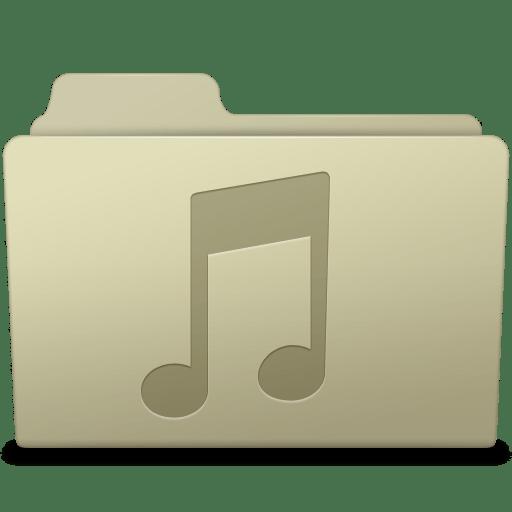 Music-Folder-Ash icon