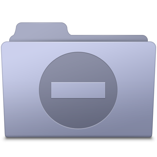 Private Folder Lavender icon