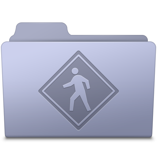 Public Folder Lavender icon