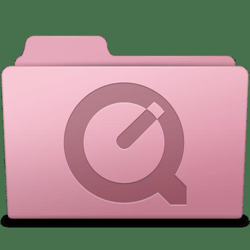 QuickTime Folder Sakura icon