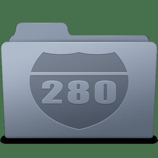 Route Folder Graphite icon