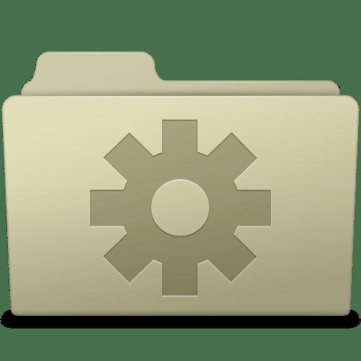Setting-Folder-Ash icon