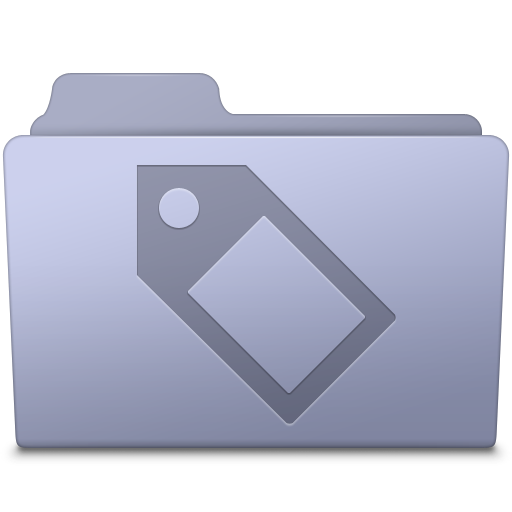 Tag-Folder-Lavender icon