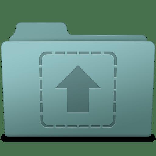 Upload Folder Willow icon