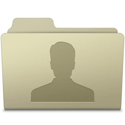 Users Folder Ash icon