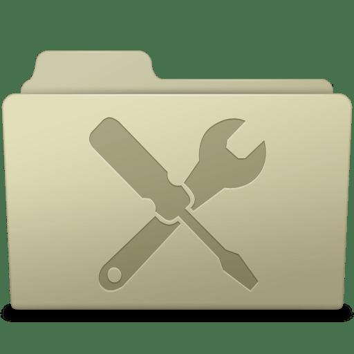 Utilities Folder Ash icon