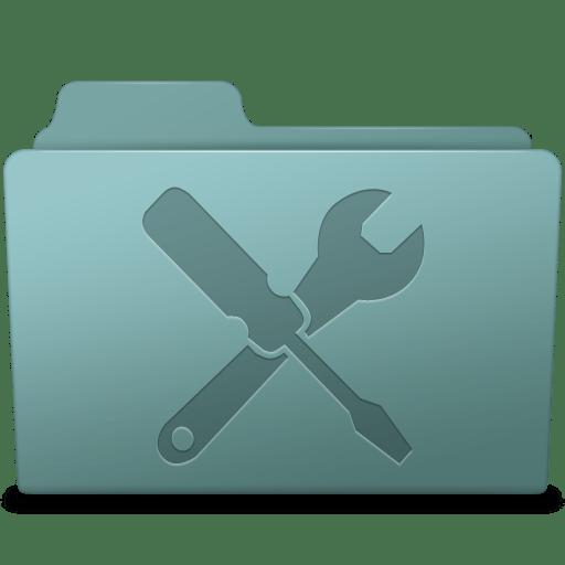 Utilities Folder Willow icon