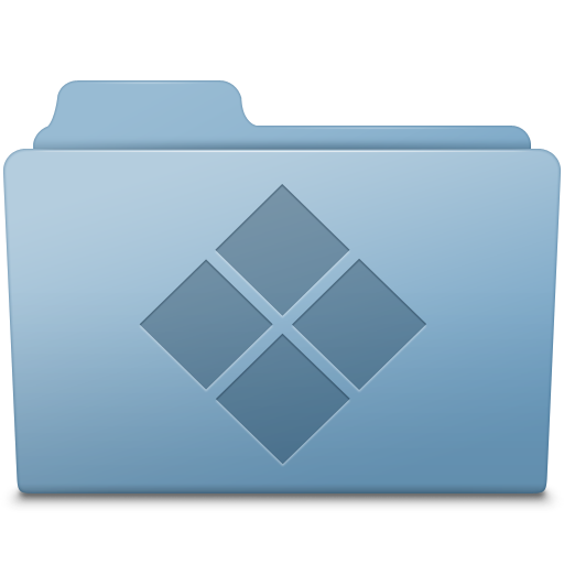 Windows Folder Blue icon