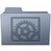System-Preferences-Folder-Graphite icon
