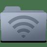 AirPort-Folder-Graphite icon