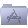 Applications-Folder-Lavender icon