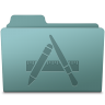 Applications-Folder-Willow icon