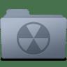 Burnable-Folder-Graphite icon