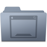 Desktop-Folder-Graphite icon