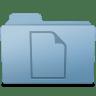 Documents-Folder-Blue icon