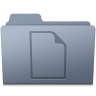 Documents-Folder-Graphite icon