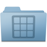 Icons-Folder-Blue icon