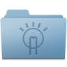 Idea-Folder-Blue icon