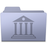 Library-Folder-Lavender icon