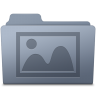 Photo-Folder-Graphite icon