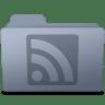 RSS-Folder-Graphite icon