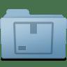 Stock-Folder-Blue icon