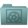 System-Preferences-Folder-Willow icon