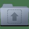 Upload-Folder-Graphite icon