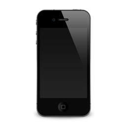 iPhone 4G shadow icon