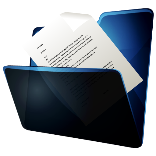 Folder Documents Icon | Hydropro V2 Iconset | Media Design