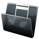 HP Music Folder icon