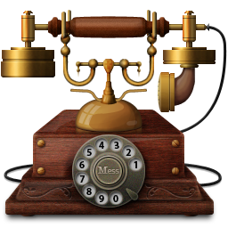 http://icons.iconarchive.com/icons/messbook/outdated/256/Telephone-icon.png