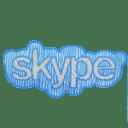 Skype txt icon