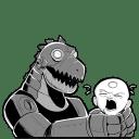 Robot Dino icon