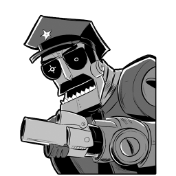 Robot Axe Cop icon