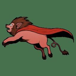 Super Lion Pig icon