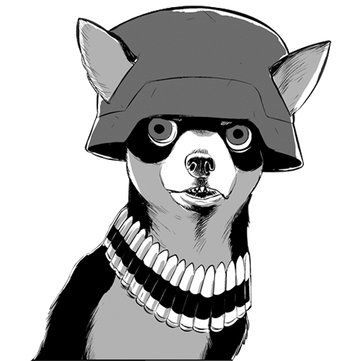 Army Chihuahua icon