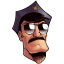 Axe-Cop-Head icon