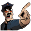Axe Cop Point icon