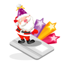 santa creditcard icon