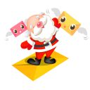 santa mails icon