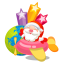 santa plane icon